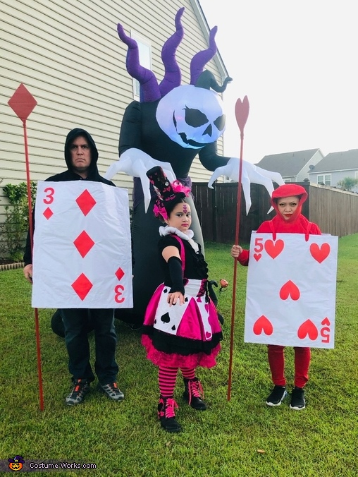 Queen of Hearts and her Guard Costume