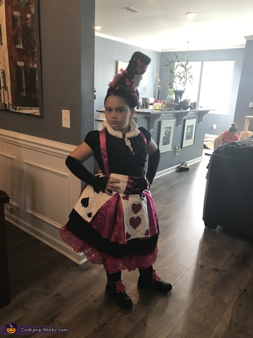 Queen of Hearts and her Guard Homemade Costume