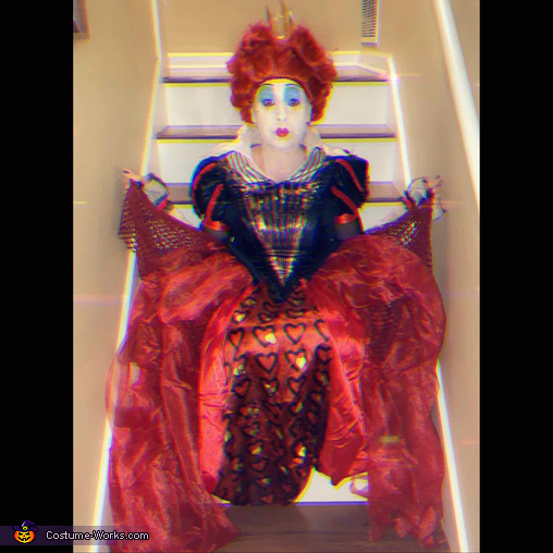 Queen of Hearts, Queen of Hearts and Mad Hatter Couple Costume