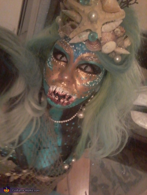 Queen of the Dark Sea Homemade Costume