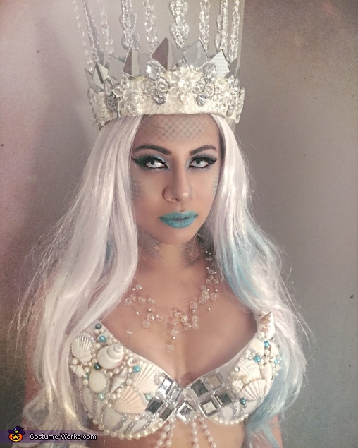 Sailors Beware.  Queen Triton:  Mermaid, Queen Triton, Mermaid Costume