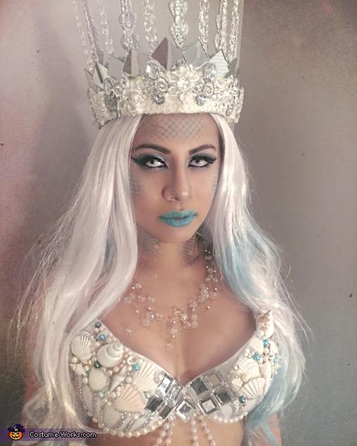 Sailors Beware.  Queen Triton:  Mermaid, Queen Triton, Mermaid Costume