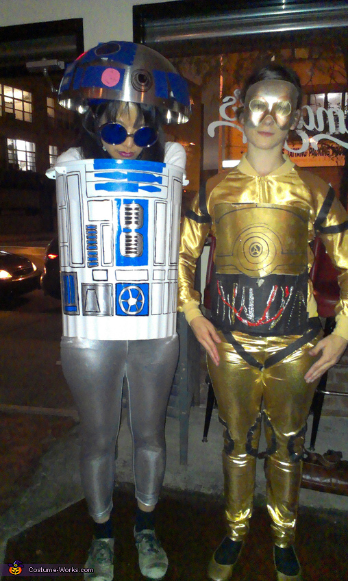 R2-D2 and C-3PO Costumes