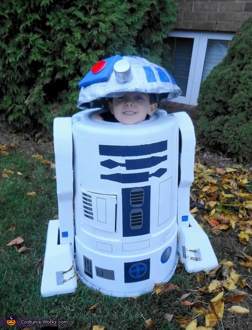 R2d2 Costume Diy Diy R2d2 Trash Can Cos...