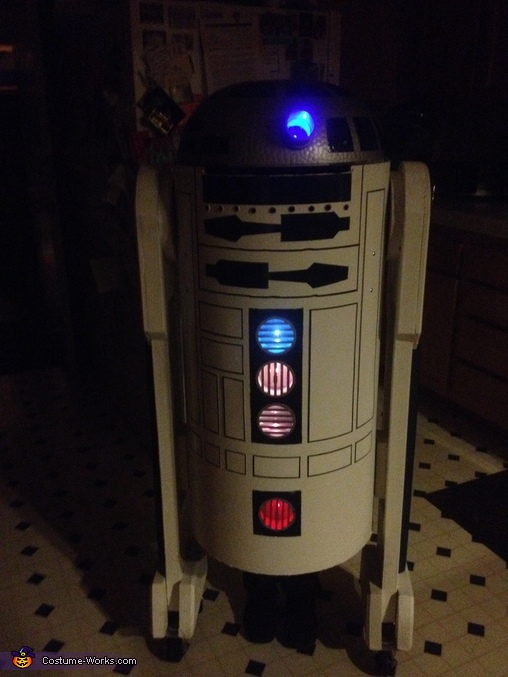 Put everything together., R2D2 Costume