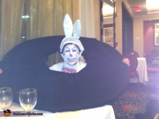 Rabbit in a Hat Homemade Costume