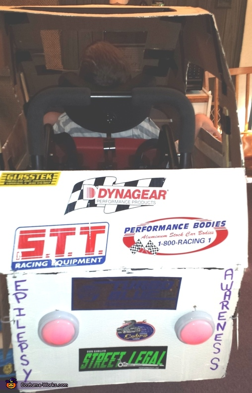 Race Car Wheelchair Costume