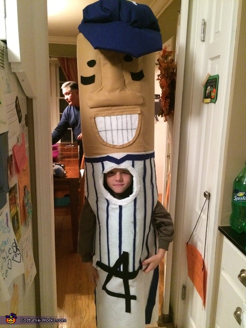 Racing Sausage Homemade Costume