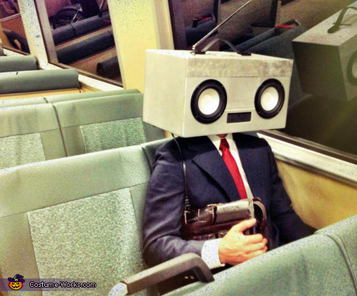 On my way to the office., RadioHead Costume