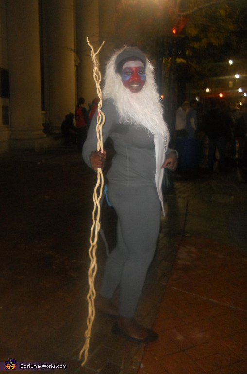 I tried to include the tail, Rafiki Costume