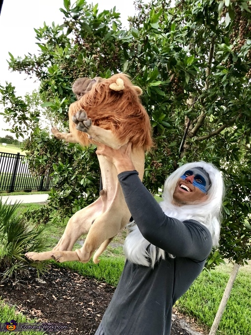Rafiki and Simba Costume