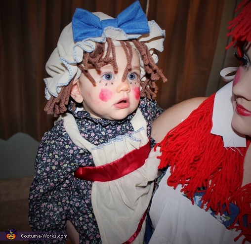 My little rag doll, Rag Doll Raggedy Ann Costume