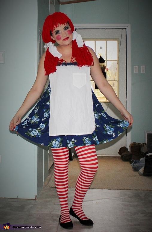 Rag Doll Raggedy Ann Costume