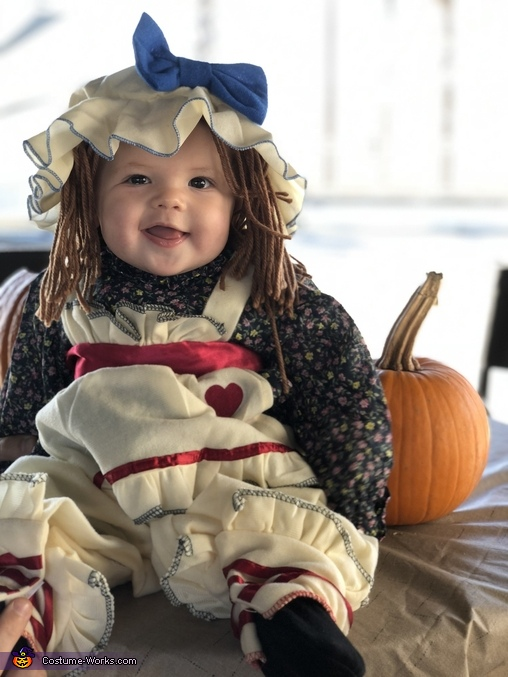 Ragamuffin Baby Homemade Costume