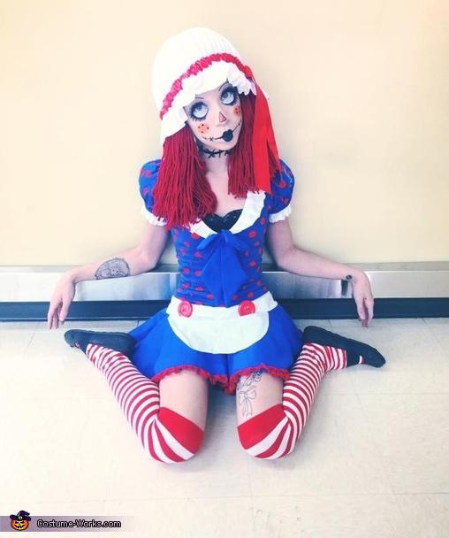 Women's Raggedy Ann Costume