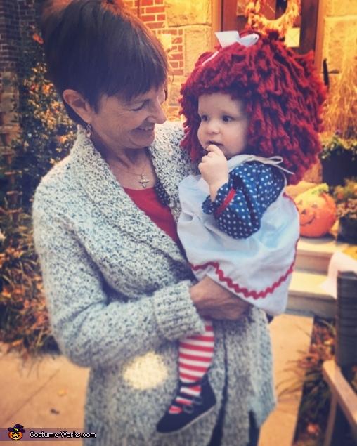 With Grandma!, Raggedy Ann Costume