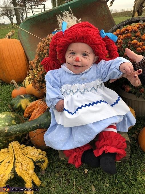Raggedy Ann Homemade Costume