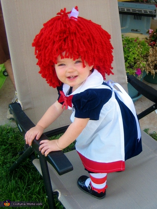 Raggedy Ann never looked so good!, Raggedy Ann Costume