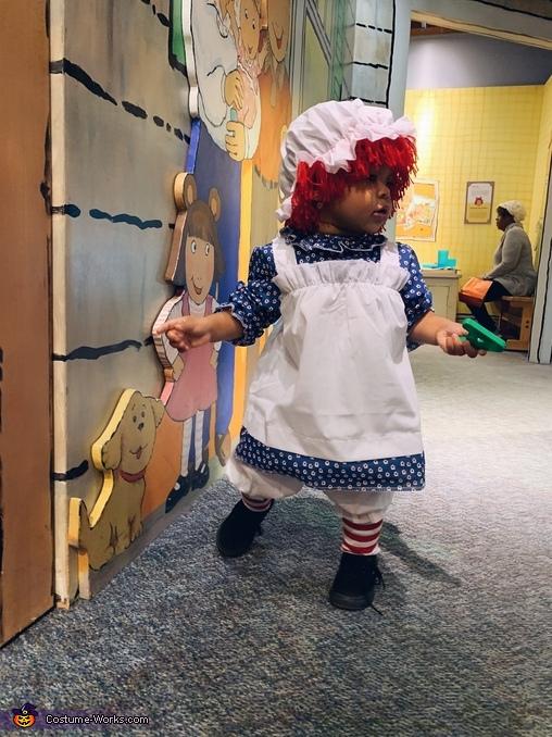 Elle / Raggedy Ann, Raggedy Ann Costume