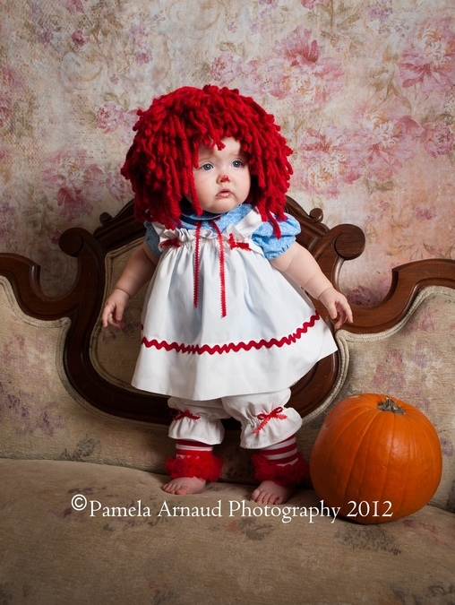 Raggedy Ann Baby Costume  sc 1 st  Costume Works : raggedy ann costume for adults  - Germanpascual.Com