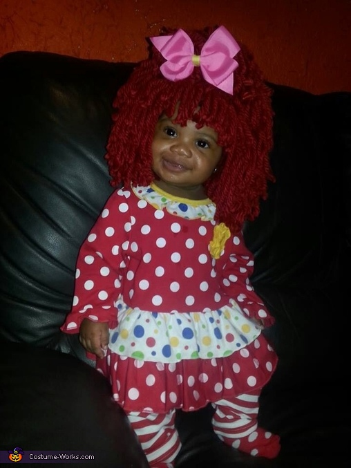 I'm the best treat ever ! It's not a trick!, Raggedy Ann Costume