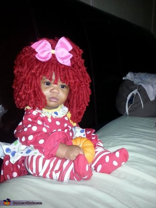 Reds Heads get sleepy too!, Raggedy Ann Costume