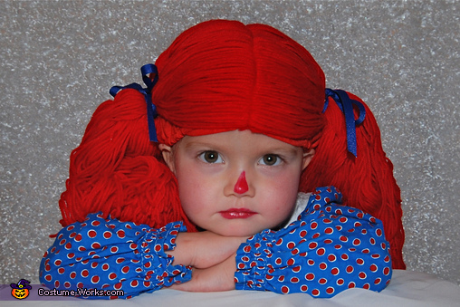 Raggedy Ann Homemade Costume