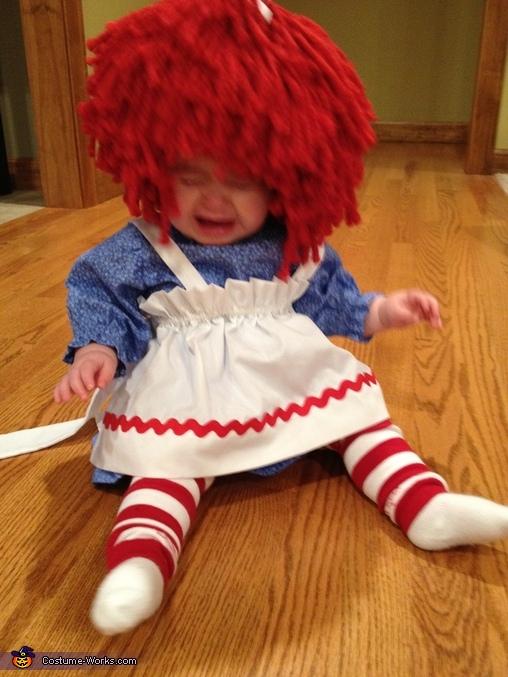 Grumpy Raggedy Ann, Raggedy Ann Baby Costume