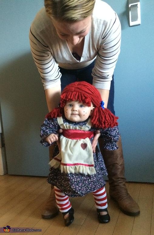 Raggedy Ann, Raggedy Ann Baby Costume