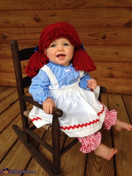 Raggedy ann , Raggedy Ann Costume