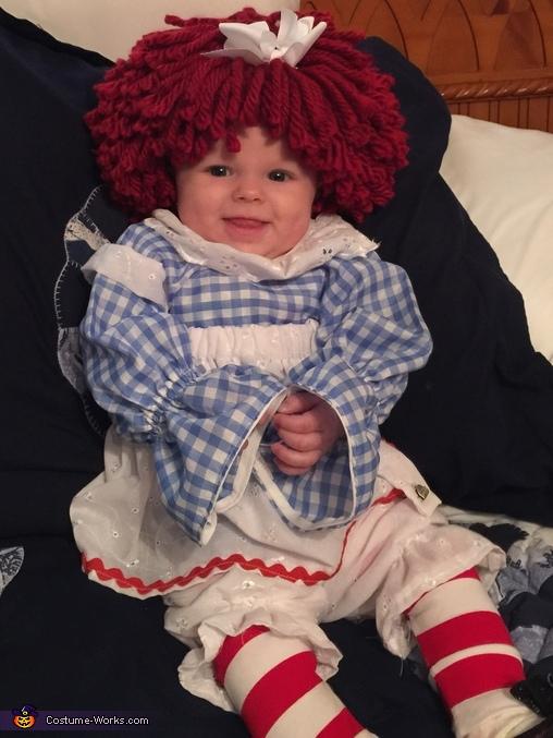 Raggity Ann, Raggedy Ann Costume