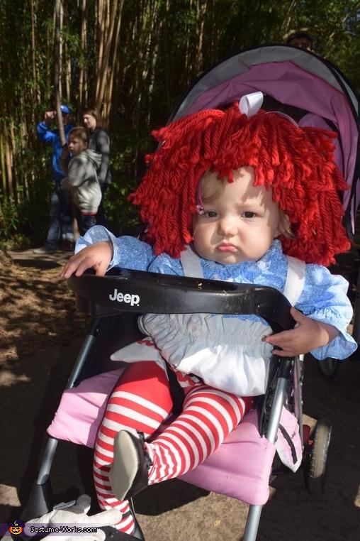 Crankety Ann, Raggedy Ann Costume