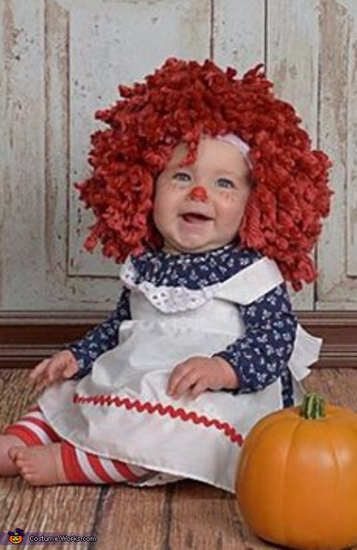 Laughing at something pretty funny, Raggedy Ann Costume
