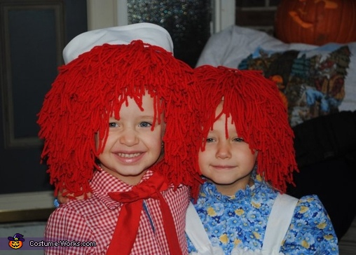 Raggedy Ann and Andy Costumes for Kids