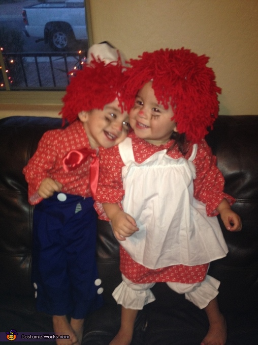 Raggedy Ann and Andy Baby Costume