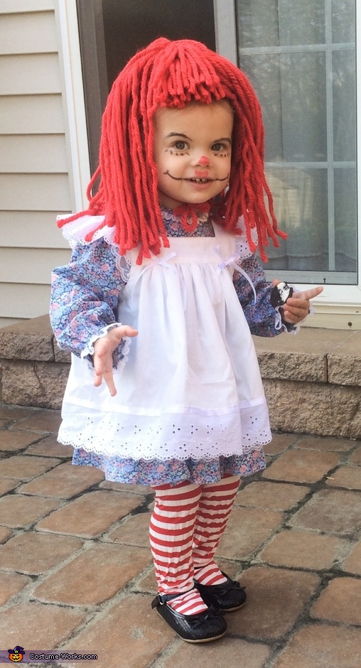 Raggedy Ann Baby Costume  sc 1 st  Costume Works : unique baby costumes girl  - Germanpascual.Com
