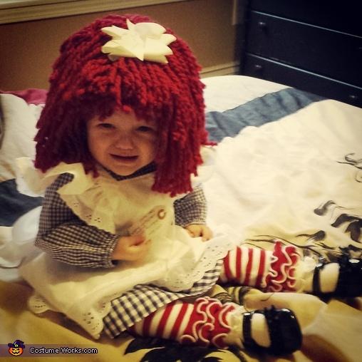 grumpy pants!, Raggedy Ann Baby Costume