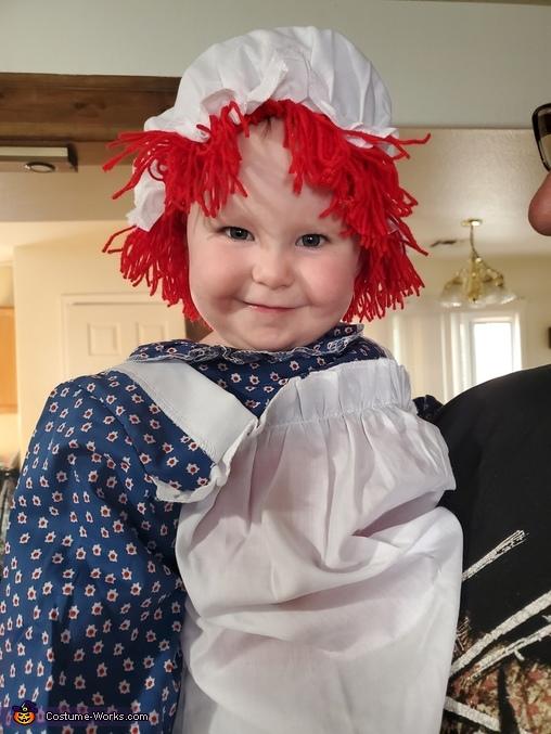 Raggedy Ann Doll Homemade Costume