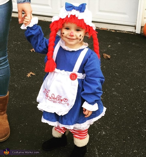 Raggedy Ann Doll Baby Costume