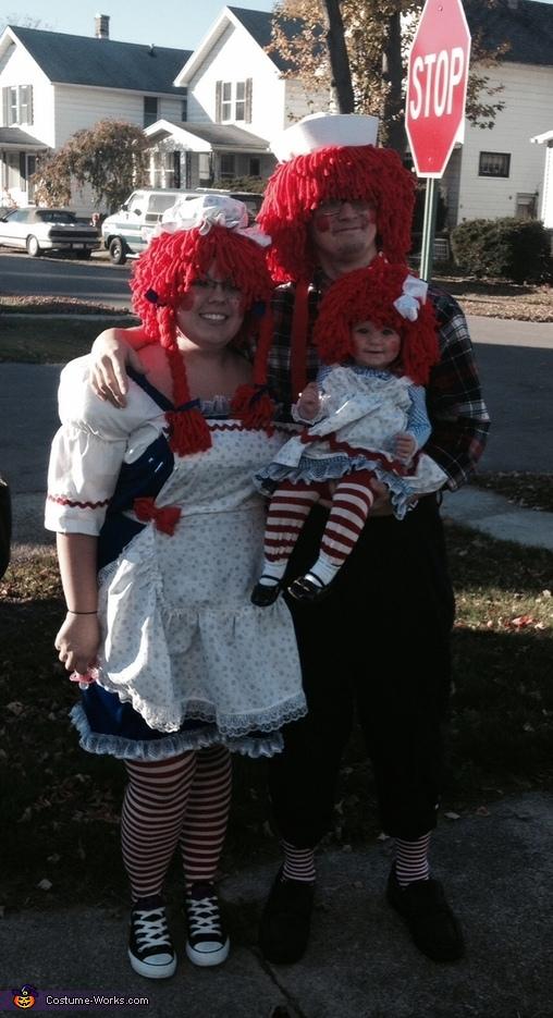 Raggedy Ann Family Costume