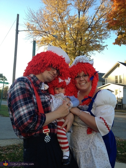 Raggedy Ann & Andy, Raggedy Ann Family Costume