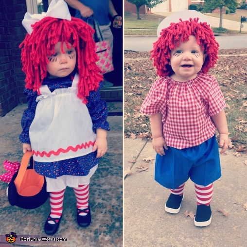 Raggedy Ann & Andy Costume