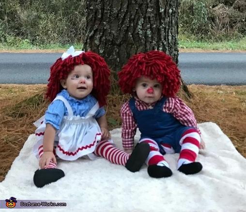 Raggedy Ann & Andy Costume