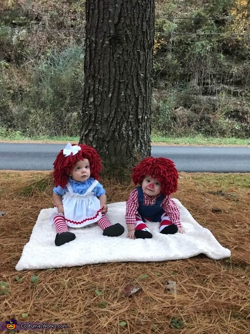 Raggedy Ann & Andy Homemade Costume