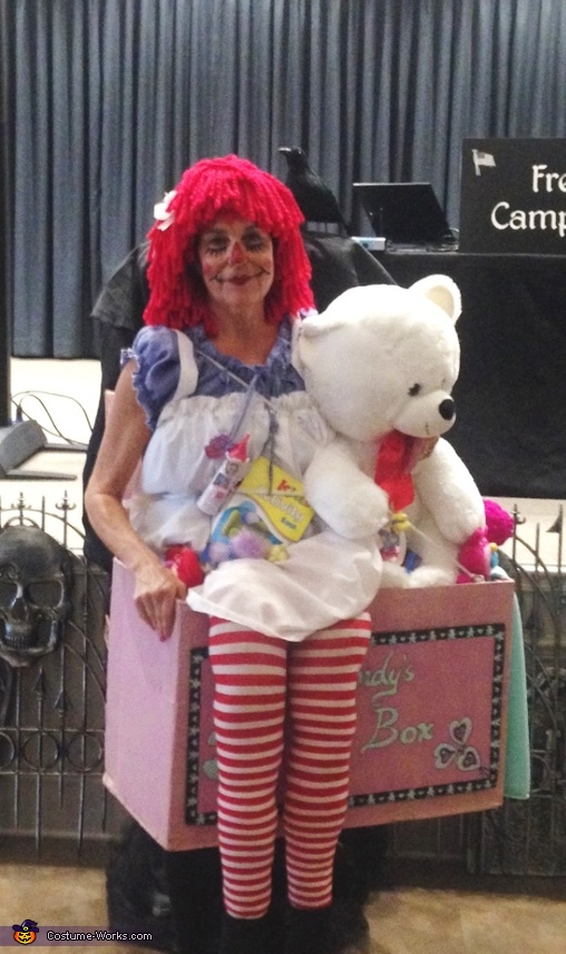 Raggedy Ann & Toys in a Toy Box Costume