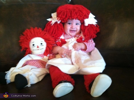Raggedy Doll Costume