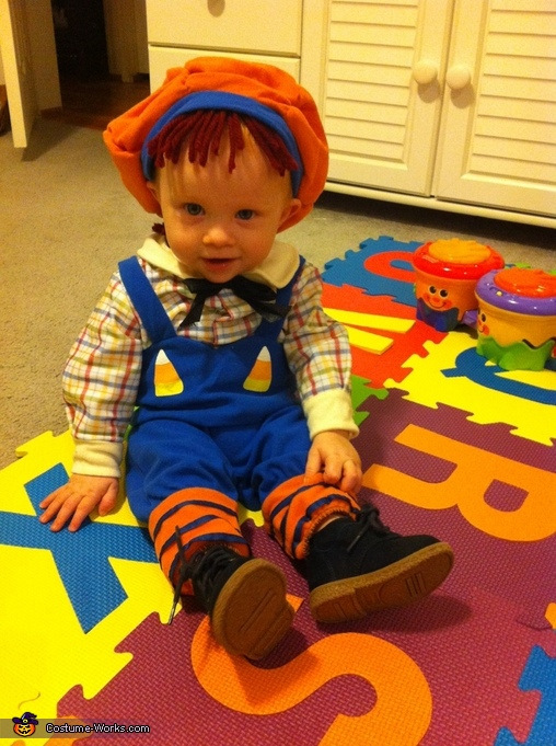 'Raggedy Andy', Raggedy Rylee Costume