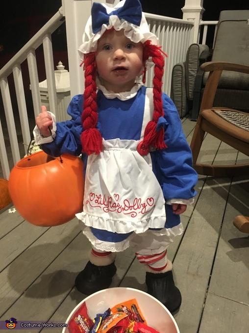 Raggy Avery Ann Homemade Costume