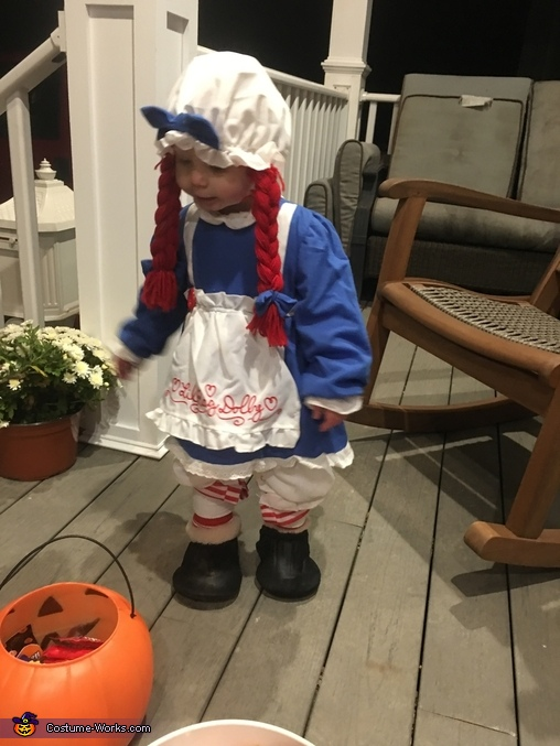 Raggy Avery Ann Homemade Costume