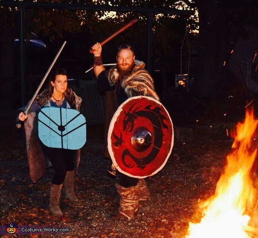 Ragnar and Lagertha, Ragnar Lothbrok Costume